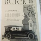 1920 Buick Touring car ad