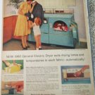 1960 GE Dryer ad