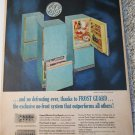 1961 GE Frost Guard Refrigerator ad