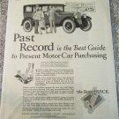 1926 Buick 4 dr sedan Past Record car ad