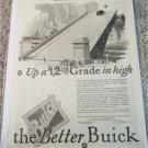 1926 Buick Up A 12% Grade car ad