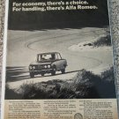 1972 Alfa Romeo 1750 Berlina 4 dr sedan car ad
