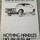 1973 Alfa Romeo 2000 GT Veloce car ad