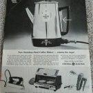 1962 GE Stainless Steel Coffeemaker ad #1