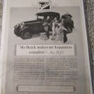 1927 Buick Coupe My Buick Makes My Happiness car ad