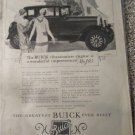1927 Buick 2 dr sedan The Buick Vibrationaless Engine Is car ad