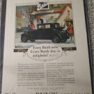 1927 Buick 2 dr sedan Every Buick Mile car ad