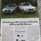 1975 Alfa Romeo Alfetta car ad