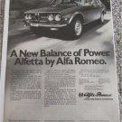 1976 Alfa Romeo Alfetta 4 dr sedan car ad #1