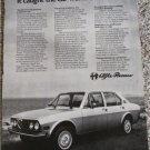 1976 Alfa Romeo Alfetta 4 dr sedan car ad #2