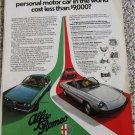 1977 Alfa Romeo Lineup car ad