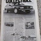 1979 Alfa Romeo Mille Miglia Sprint Veloce car ad