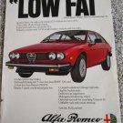 1980 Alfa Romeo Sprint Veloce car ad