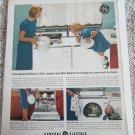 1963 GE Washer With Mini Basket ad