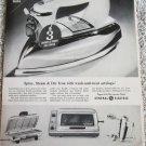 1964 GE Spray, Stream & Dry Iron ad #1