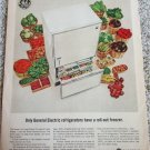 1964 GE Roll-Out Freezer ad