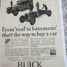 1928 Buick 4 dr sedan From Roof To Basement car ad