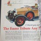1928 Buick Convertible car ad