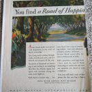 1928 Buick 2 dr coupe You find A Road Of Happiness  car ad