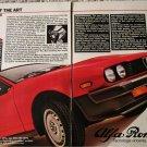 1981 Alfa Romeo GTV-6/2.5 Coupe car ad featuring Mario Andretti