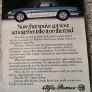 1984 Alfa Romeo Spider Veloce car ad