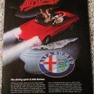 1984 Alfa Romeo Spider Veloce Alfissimo car ad