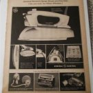 1965 GE Spray,Steam & Dry Iron ad