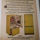 1965 GE Refrigerator ad