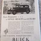 1929 Buick 4 dr sedan New Treasures car ad
