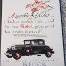 1929 Buick 5 Passenger Coupe A Sparkle car ad