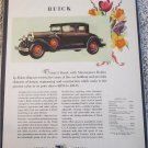 1929 Buick 5 Passenger Coupe Todays Buick car ad