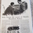 1929 Buick Touring Billy Learns car ad