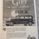 1929 Buick 4 dr sedan The Gift car ad