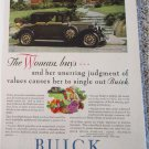1929 Buick 5 Passenger Coupe The Woman Buys car ad