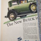 1929 Buick 4 dr sedan The New Buick car ad