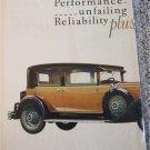 1929 Buick 4 dr sedan Revolutionary car ad
