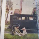 1929 Buick 4 dr sedan Here Is Real car ad