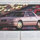 1992 Acura Vigor GS 4 dr sedan car ad #1