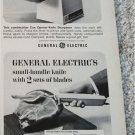 1967 GE Can Opener Kife Sharpener & Small Handle Knife ad