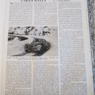 Monte Carlo Rally article featuring Sidney Allard  and his 1952 Saloon