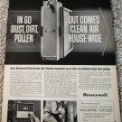 1964 Honeywell Electronic Air Cleaner ad