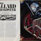 1951 Allard JS Roadster car article