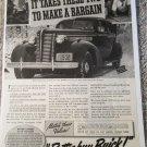 1938 Buick Special 4 dr sedan car ad