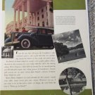 1938 Buick Limited 4 dr sedan car ad