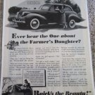 1939 Buick 2 dr sedan car ad