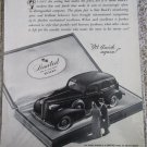 1939 Buick Limited 4 dr sedan car ad