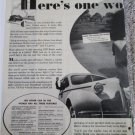 1939 Buick Eight 4 dr sedan Here;s One Worth car ad