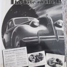 1939 Buick Eight 4 dr sedan The Life car ad