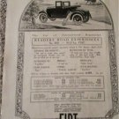 1923 Fiat Roadster car ad