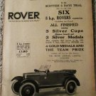 1923 Rover Roadster car ad